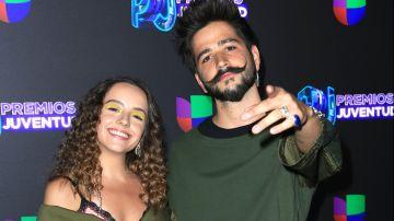 Evaluna y Camilo   Mezcalent