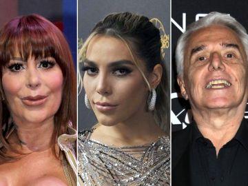 Alejandra Guzmán, Frida Sofía y Enrique Guzmán