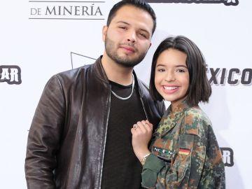 Leonardo y Ángela Aguilar