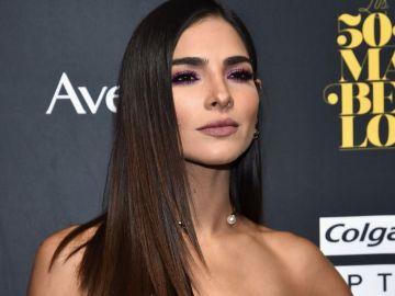 Alejandra Espinoza es presentadora de televisión y modelo. | Getty Images