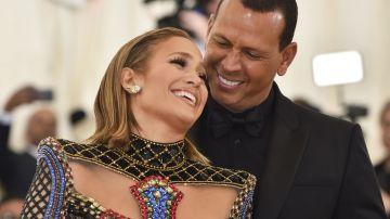 Jennifer López y Alex Rodríguez   HECTOR RETAMAL/Getty Images