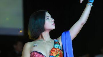 Ángela Aguilar en Jaripeo sin fronteras de 2019 | JC Olivera/Getty Images