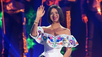 Angela Aguilar en el escenario de los Premios Juventud de 2019 | Jason Koerner/Getty Images