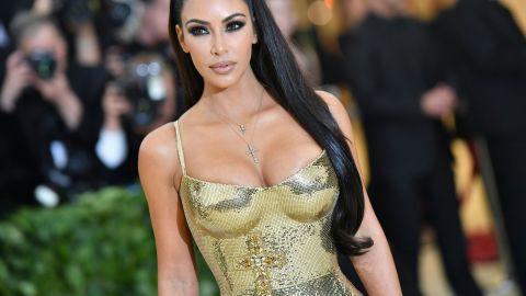 Kim Kardashian en la Met Gala del 2018