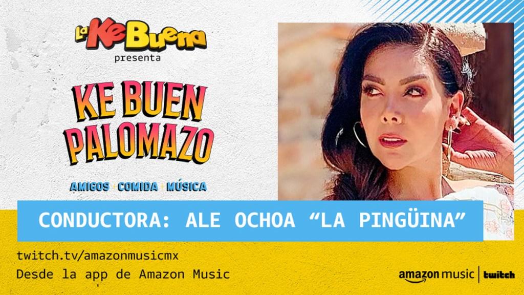 Ale Ochoa, presentadora de 'Ke Buen Palomazo'
