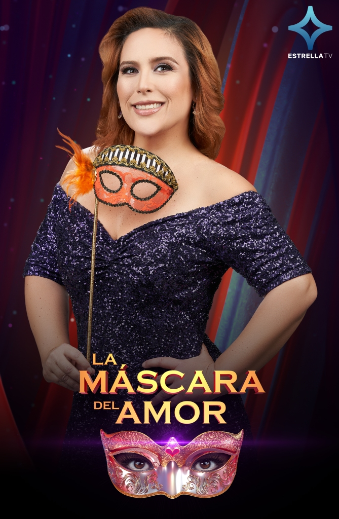 Angélica Vale, la host de 'La Máscara del Amor'
