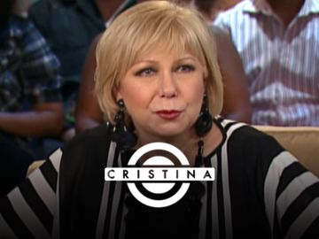 Cristina Saralegui en su programa de Univision