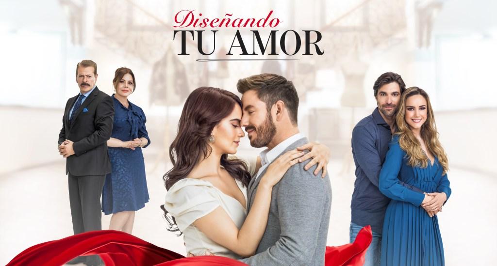Sergio Goyri, María Sorté, Gala Montes, Juan Diego Covarrubias, Osvaldo de León y Ana Belena en 'Diseñando Tu Amor'