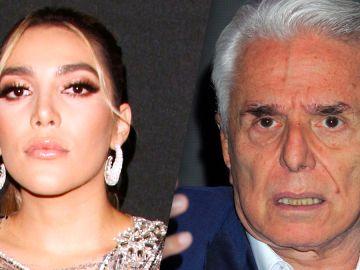 Frida Sofía y Enrique Guzmán