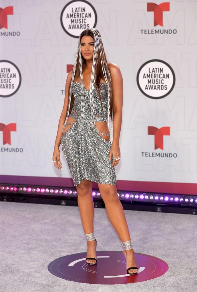 Ariadna Gutiérrez en los Latin AMAs 2021