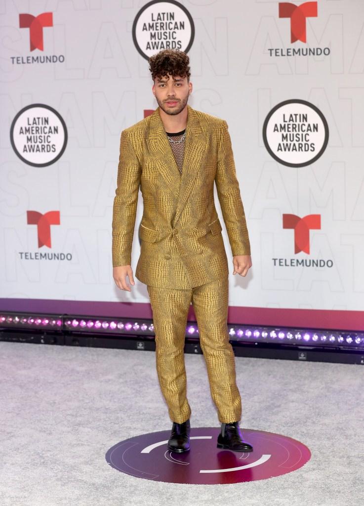 Prince Royce en los Latin AMAs 2021