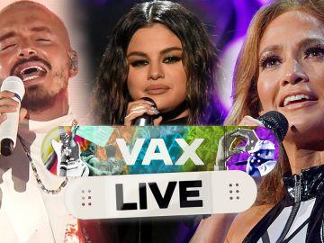 J Balvin, Selena Gomez y Jennifer Lopez se unen para VAX LIVE