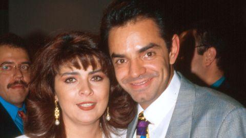 Victoria Ruffo y Eugenio Derbez | Mezcalent