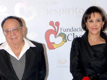 Chespirito y Florinda Meza   Mezcalent