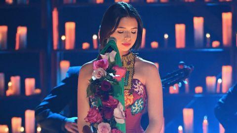 Ángela Aguilar en la ceremonia de los Latin Grammy Awards en 2018   Ethan Miller/Getty Images for LARAS