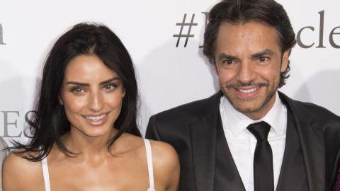 Eugenio Derbez y su hija Aislinn Derbez | ROBYN BECK/AFP via Getty Images