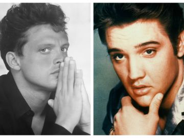 Luis Miguel y Elvis Presley   Mezcalent - Getty Images