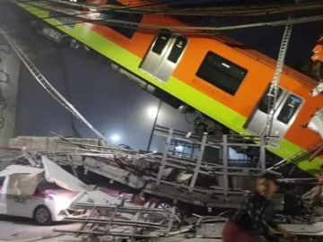 Metro-colapsado-de-la-Ciudad-de-Mexico-Mayo-2021 | Cortesía