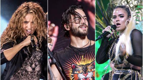 Shakira, Maluma y Karol G | Mezcalent