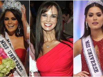 Ximena Navarrete, Lupita Jones y Andrea Meza   Mezcalent y Getty Images