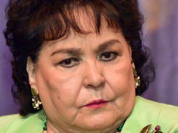 Carmen Salinas en rueda de prensa | Mezcalent