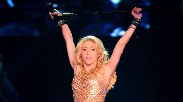 Shakira en concierto de Las Vegas | Mezcalent