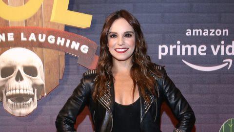 La conductora Tania Rincón, de 34 años, se esta luciendo en el programa HOY   Mezcalent