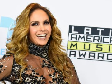 Lucero en los Latin American Music Awards de 2015 | Frazer Harrison/Getty Images