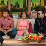 Familia Aguilar visitando Univisión | Gustavo Caballero/Getty Images