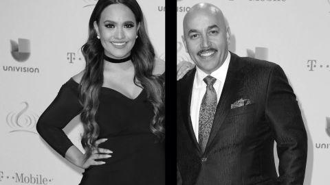 Mayeli Alonso y Lupillo Rivera en el 2017 | Grosby Group