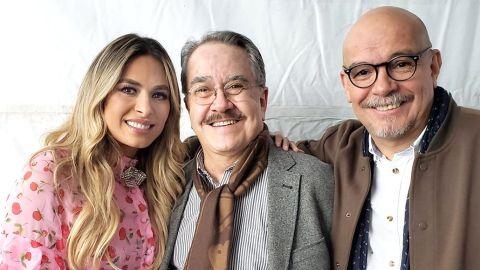 Galilea Montijo, Pedro Sola y Mauricio Castillo   Mezcalent