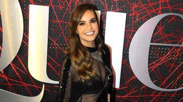 Tania Rincón es una presentadora mexicana   Mezcalent