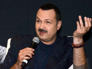 Pepe Aguilar en rueda de prensa | Mezcalent