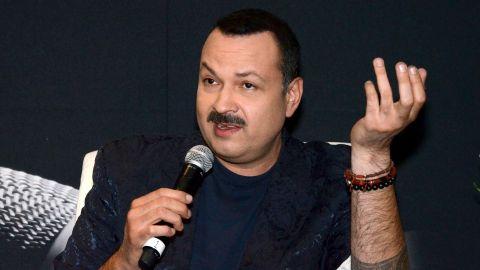Pepe Aguilar en rueda de prensa   Mezcalent