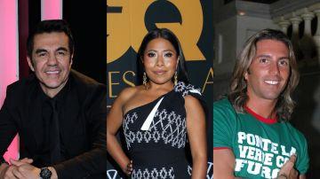 Adrián Uribe, Yalitza Aparicio y Poncho de Nigris   Mezcalent