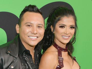 Kimberly Flores y Edwin Luna   Matt Winkelmeyer/Getty Images for Spotify