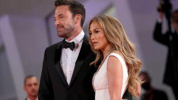 Ben Affleck y Jennifer Lopez juntos en la alfombra roja